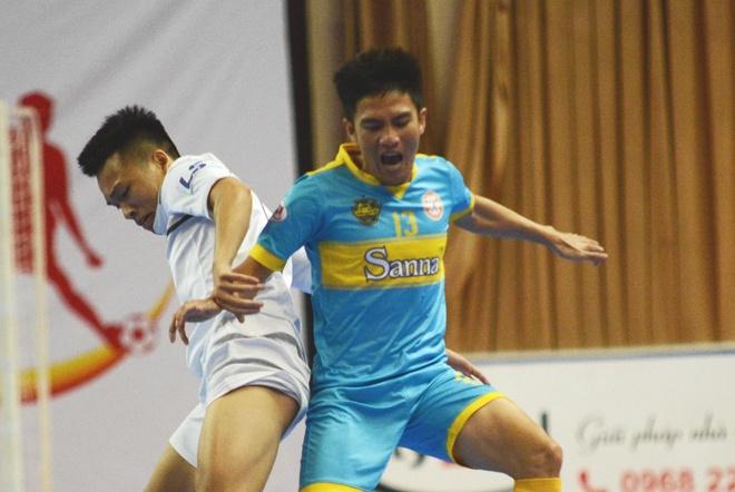 Hai doi futsal Khanh Hoa no luc bam duoi Thai Son Nam hinh anh