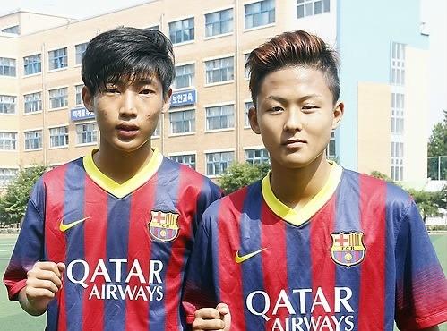 U20 Han Quoc trong cay sao tre Barcelona de lap ky tich hinh anh