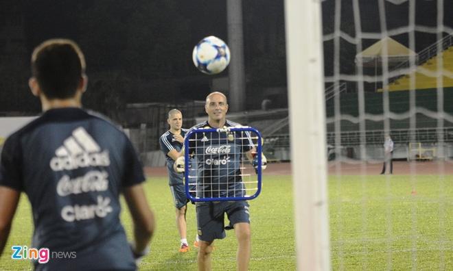 Bai tap la cua U20 Argentina truoc tran gap U20 Viet Nam hinh anh 2
