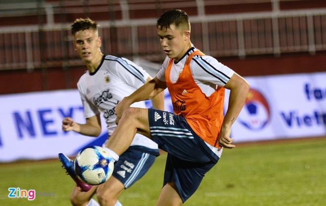 Bai tap la cua U20 Argentina truoc tran gap U20 Viet Nam hinh anh 5