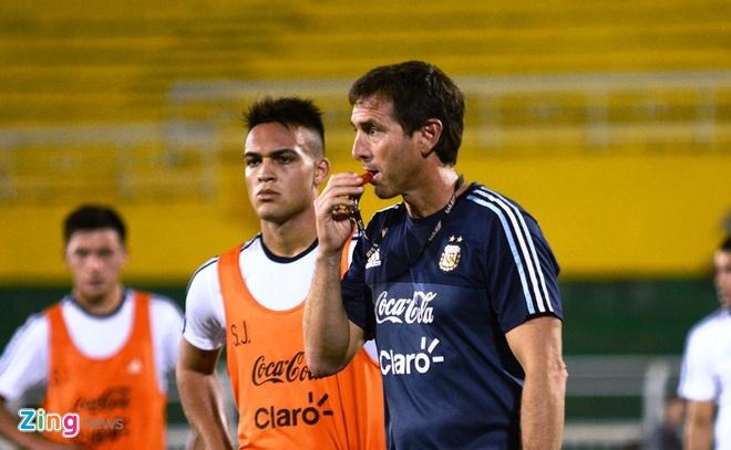 Bai tap la cua U20 Argentina truoc tran gap U20 Viet Nam hinh anh 7