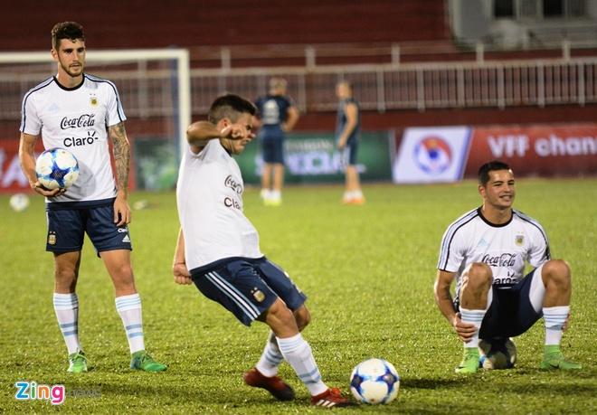 Bai tap la cua U20 Argentina truoc tran gap U20 Viet Nam hinh anh 8