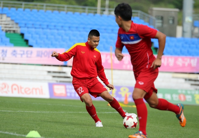 U20 Viet Nam tap tan cong, dut diem truoc tran gap Vanuatu hinh anh 3