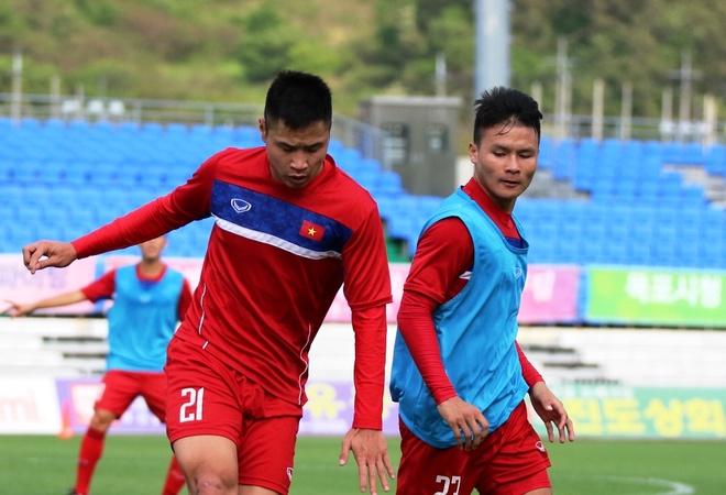 U20 Viet Nam tap tan cong, dut diem truoc tran gap Vanuatu hinh anh