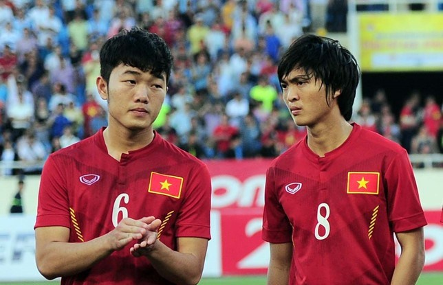U22 Viet Nam - Macau: Them be phong tu Xuan Truong hinh anh