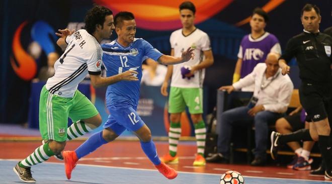 Thai Son Nam vao ban ket giai futsal chau A hinh anh 1