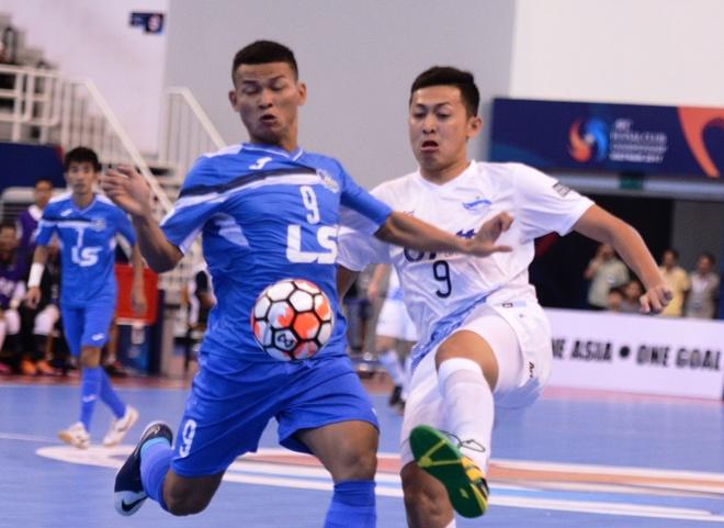 Thai Son Nam thua 0-6 truoc CLB Chonburi hinh anh