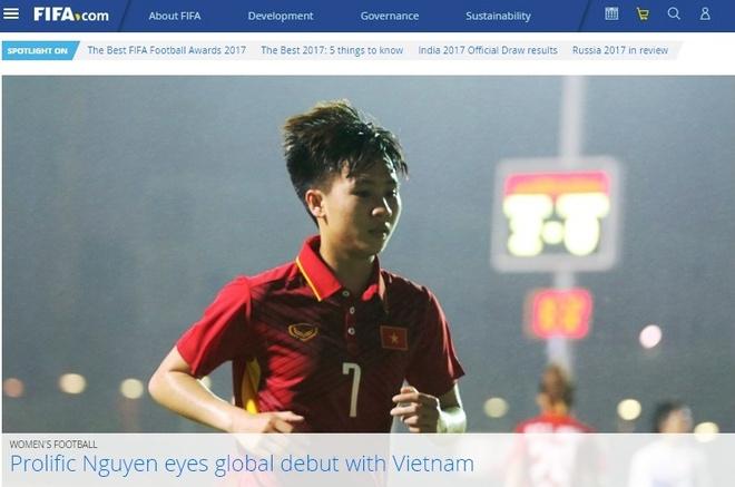 FIFA phong van Tuyet Dung anh 1