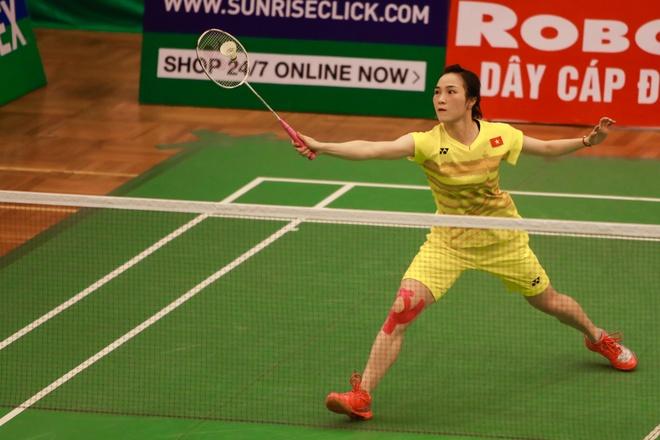 Vu Thi Trang de thua o chung ket Vietnam Open hinh anh