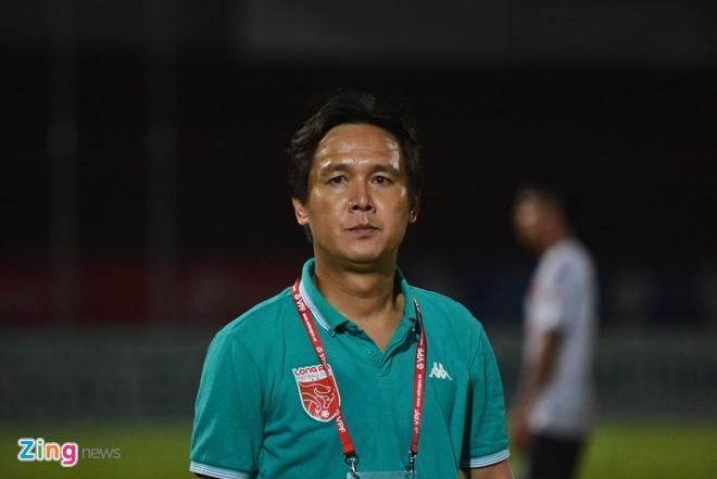 HLV Minh Phuong than troi vi Long An lai thua phut cuoi hinh anh 1