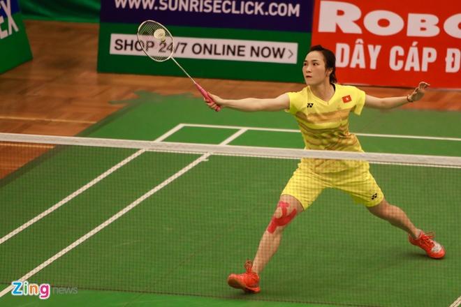 Vu Thi Trang de thua o chung ket Vietnam Open hinh anh 1