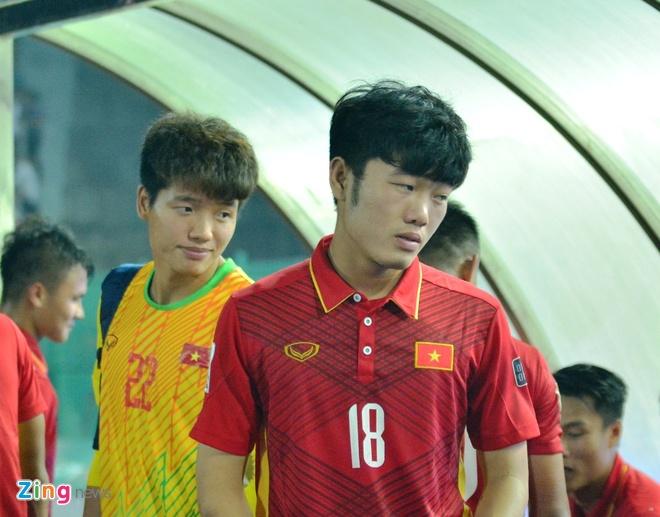 HLV Park Hang-seo noi ve Xuan Truong anh 1