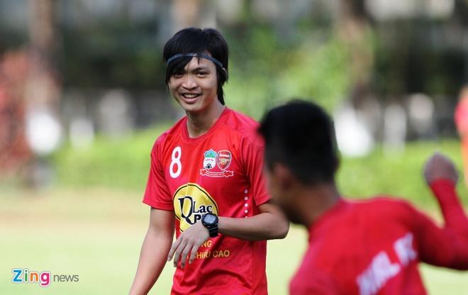 Tuan Anh tro lai khi gap Quang Nam anh 1