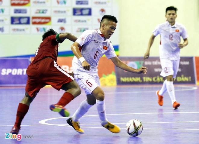 Con 32 giay, futsal Viet Nam ghi ban danh bai Indonesia 4-3 hinh anh 5