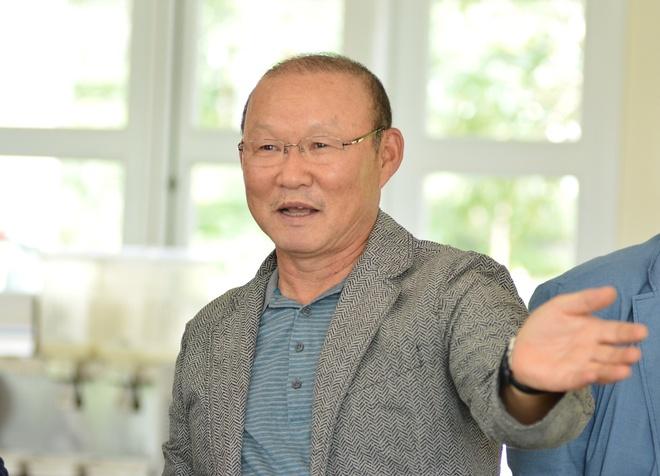 HLV Park Hang-seo se loai bo thoi quen xau cua cau thu Viet Nam hinh anh