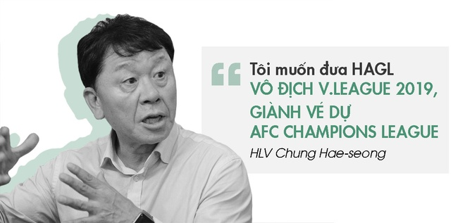 Bau Duc khat ngoi vo dich V.League cung 'nguoi day ho' hinh anh