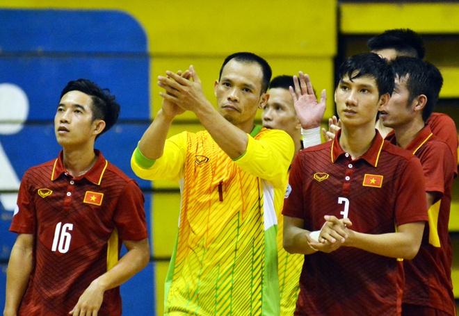 Thua bac nhuoc Malaysia, futsal Viet Nam het mo vo dich Dong Nam A hinh anh