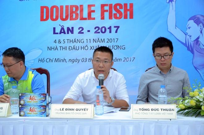 Sao bong ban Viet Nam du giai Double Fish 2017 hinh anh 1