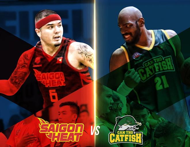 Saigon Heat vs Cantho Catfish: Cho doi cong hap dan hinh anh