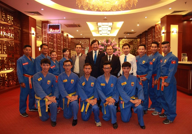 Thu tuong Canada Justin Trudeau an tuong voi vovinam hinh anh 8