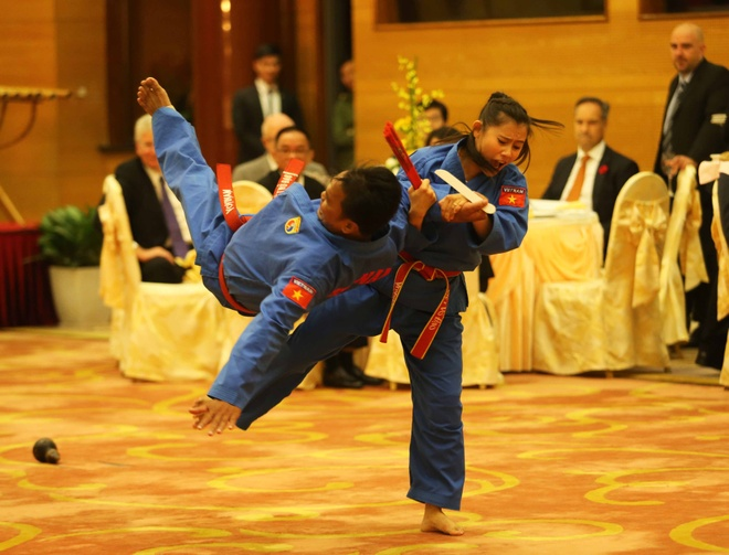 Thu tuong Canada Justin Trudeau an tuong voi vovinam hinh anh 5