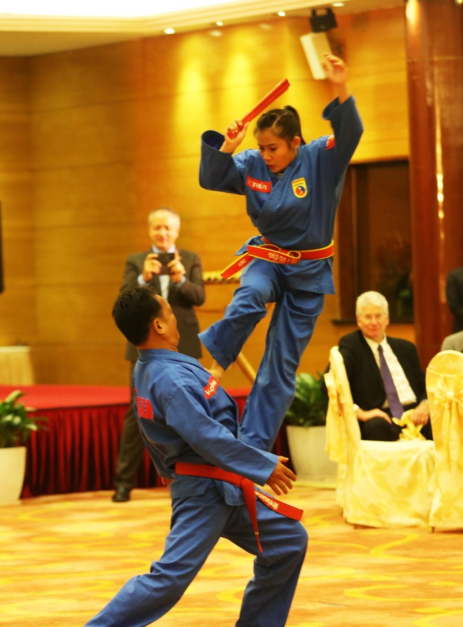 Thu tuong Canada Justin Trudeau an tuong voi vovinam hinh anh 7