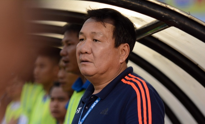   HLV Hoang Van Phuc: 'Quang Nam co net giong Leicester City' hinh anh