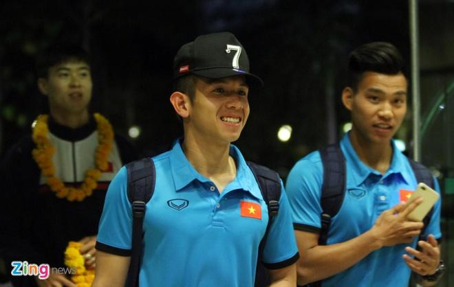 U23 Viet Nam tap nhe truoc gio an toi o Thai Lan hinh anh 1
