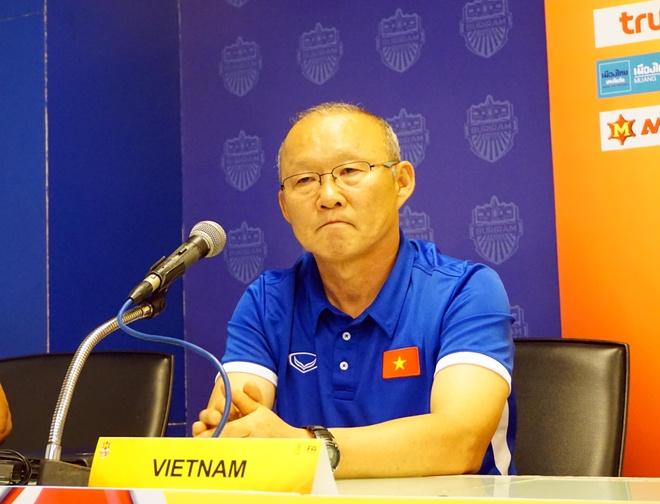 HLV Park Hang-seo: 'U23 Viet Nam kho long choi voi phong do cao nhat' hinh anh