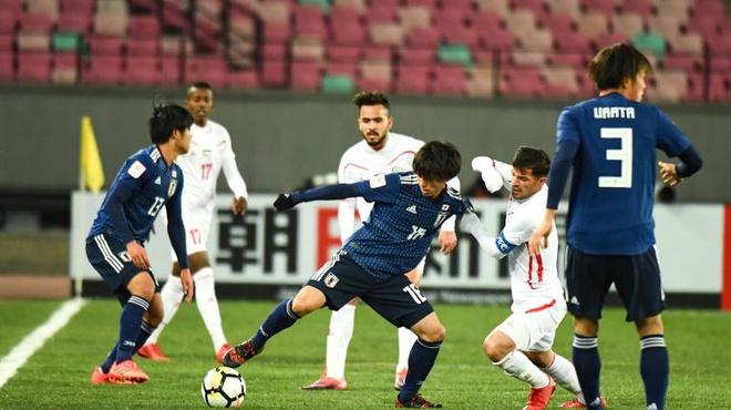 Highlights U23 Nhat Ban 1-0 U23 Palestine hinh anh