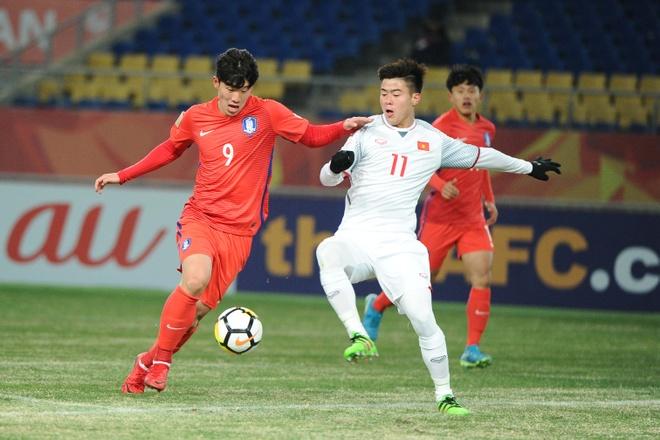 U23 Viet Nam da khien Han Quoc gap rac roi hinh anh