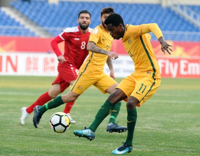 U23 Australia co the vang 2 tru cot khi gap Viet Nam hinh anh