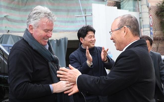 Guus Hiddink chuc mung thanh cong cua HLV Park Hang-seo hinh anh