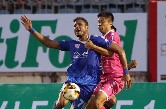 CLB Quang Nam, Can Tho doi ngoai binh truoc vong 3 V.League hinh anh
