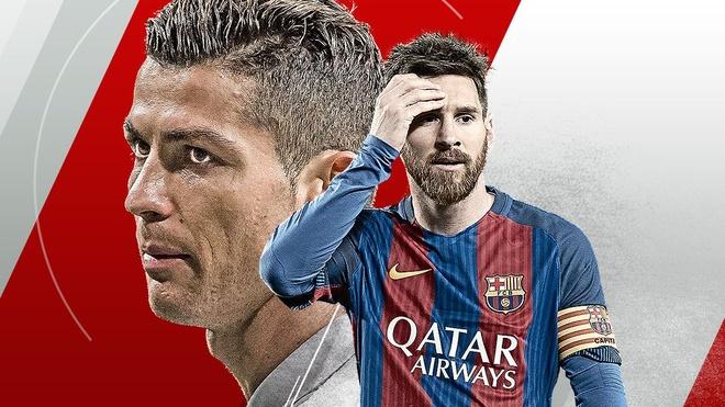 Ronaldo da goi, Messi phai tra loi hinh anh