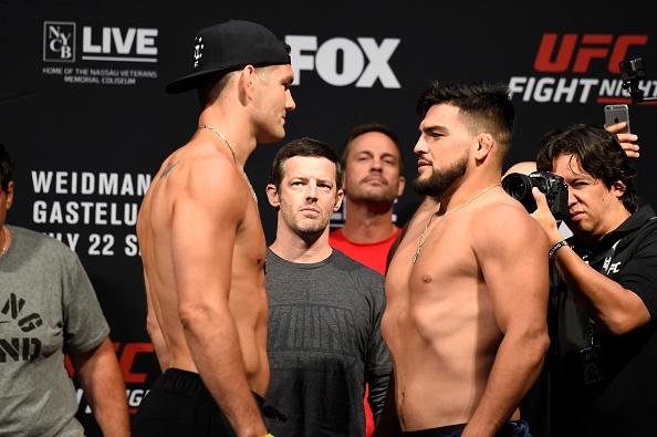 UFC on Fox 25: Nha cuu vo dich Chris Weidman tro lai an tuong hinh anh 1