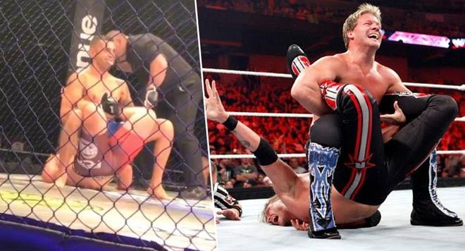 Vo si MMA su dung don khoa tru danh cua WWE de ha guc doi thu hinh anh