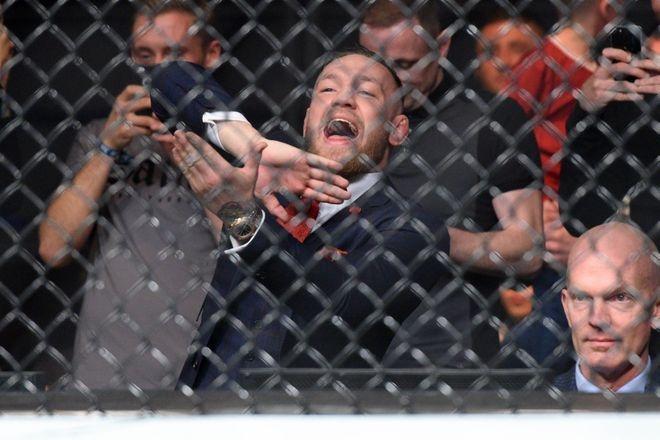 McGregor phat ngon gay soc, lam tran dau gian doan o lan tro lai UFC hinh anh 3