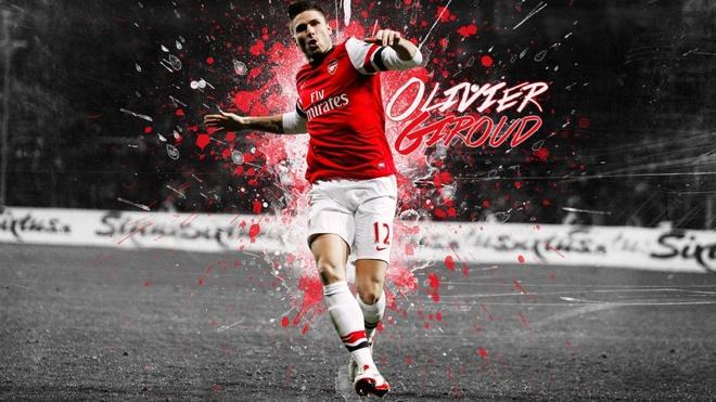 Olivier Giroud, 'sat thu' bi Wenger lang quen hinh anh