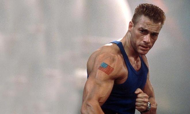 Cuu vo dich UFC 'boc hoa' khi bi ngoi sao man bac Van Damme da vao mat hinh anh