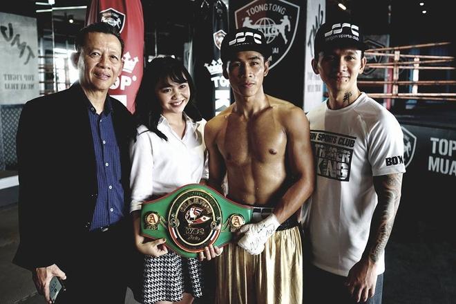 Nha Vo Dich Wbc Tran Van Thao Thuong Dai Tai Thai Lan Hinh Anh 2
