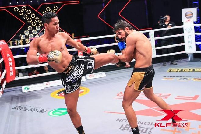 Kickboxer so 2 the gioi bi knock-out sau 29 giay hinh anh