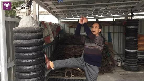 Vo su 30 nam tap Kung Fu bi de tu MMA cua Tu Hieu Dong ha sau 40 giay hinh anh 3
