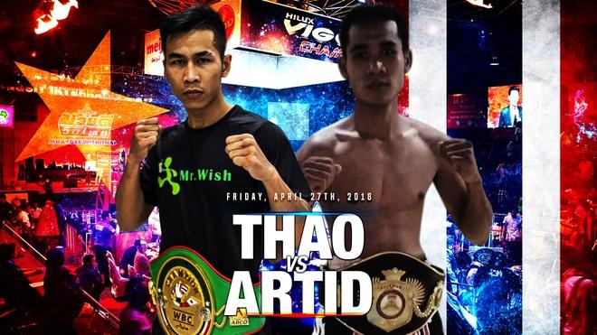 Vo si giu dai WBC Tran Van Thao sap dai chien cung nha vo dich Thai hinh anh