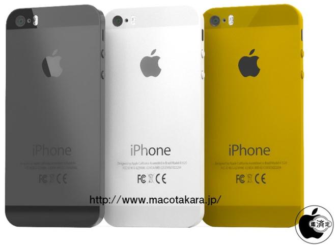iPhone 5S van co camera 8 cham, loai bo ban mau den hinh anh