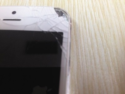 iPhone 5 phat no, lam hong mat nguoi dung Trung Quoc hinh anh