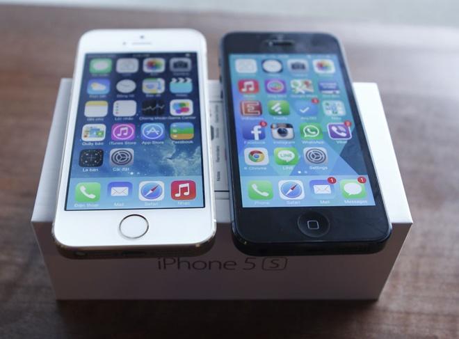iPhone 5S do dang iPhone 5 tai Viet Nam hinh anh