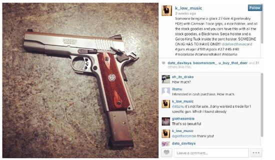 Instagram tro thanh noi buon ban vu khi hinh anh
