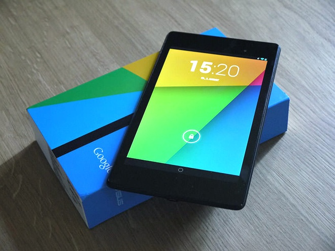 Nexus 7 chinh hang bat dau ban ra, gia tu 6 trieu dong hinh anh