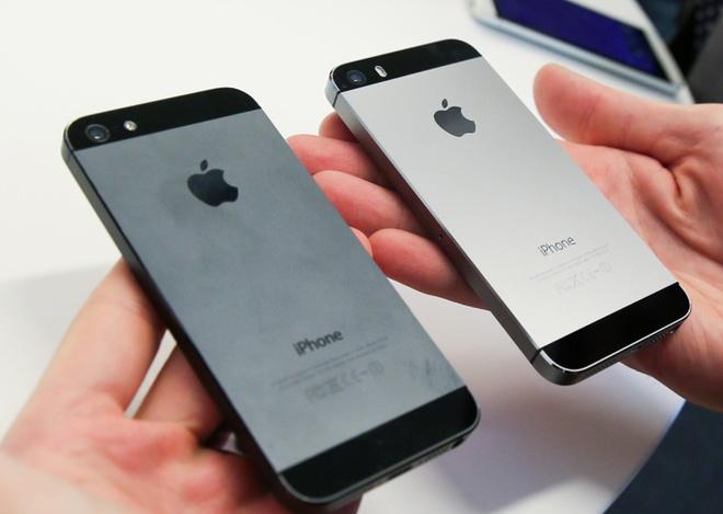 iPhone 5S ban khoa mang gia re tran ve Viet Nam hinh anh